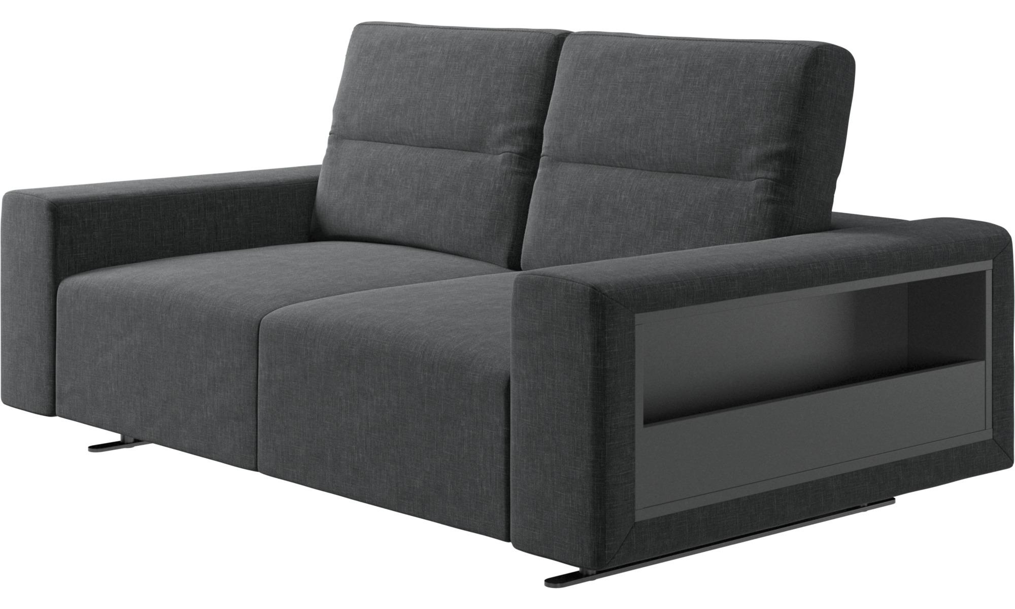Beeindruckend Sofa Mit Verstellbarer Rückenlehne Foto Von 2-sitzer Sofas - Hampton Rückenlehne Und Stauraum