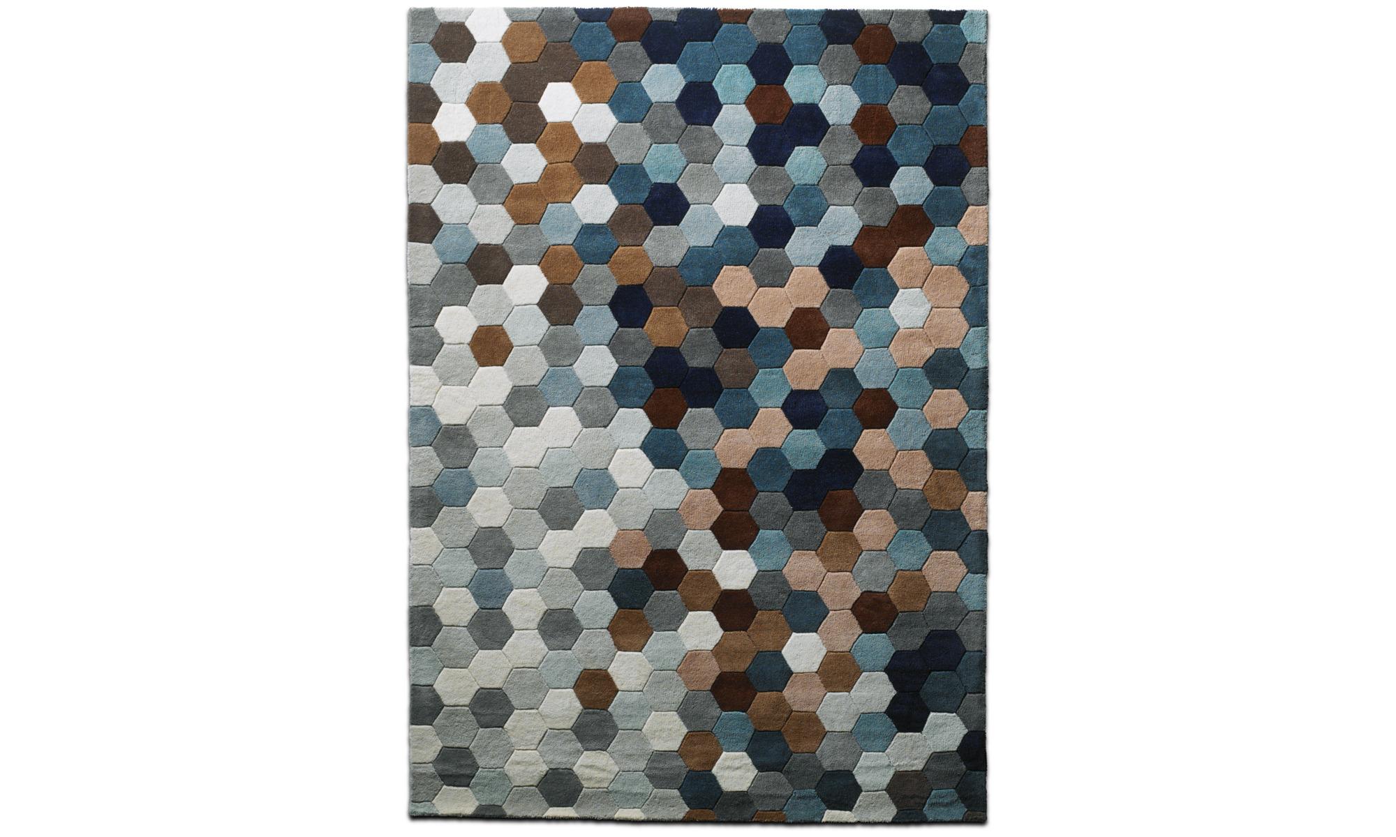 rectangular rugs kaleidoscope rug boconcept. Black Bedroom Furniture Sets. Home Design Ideas