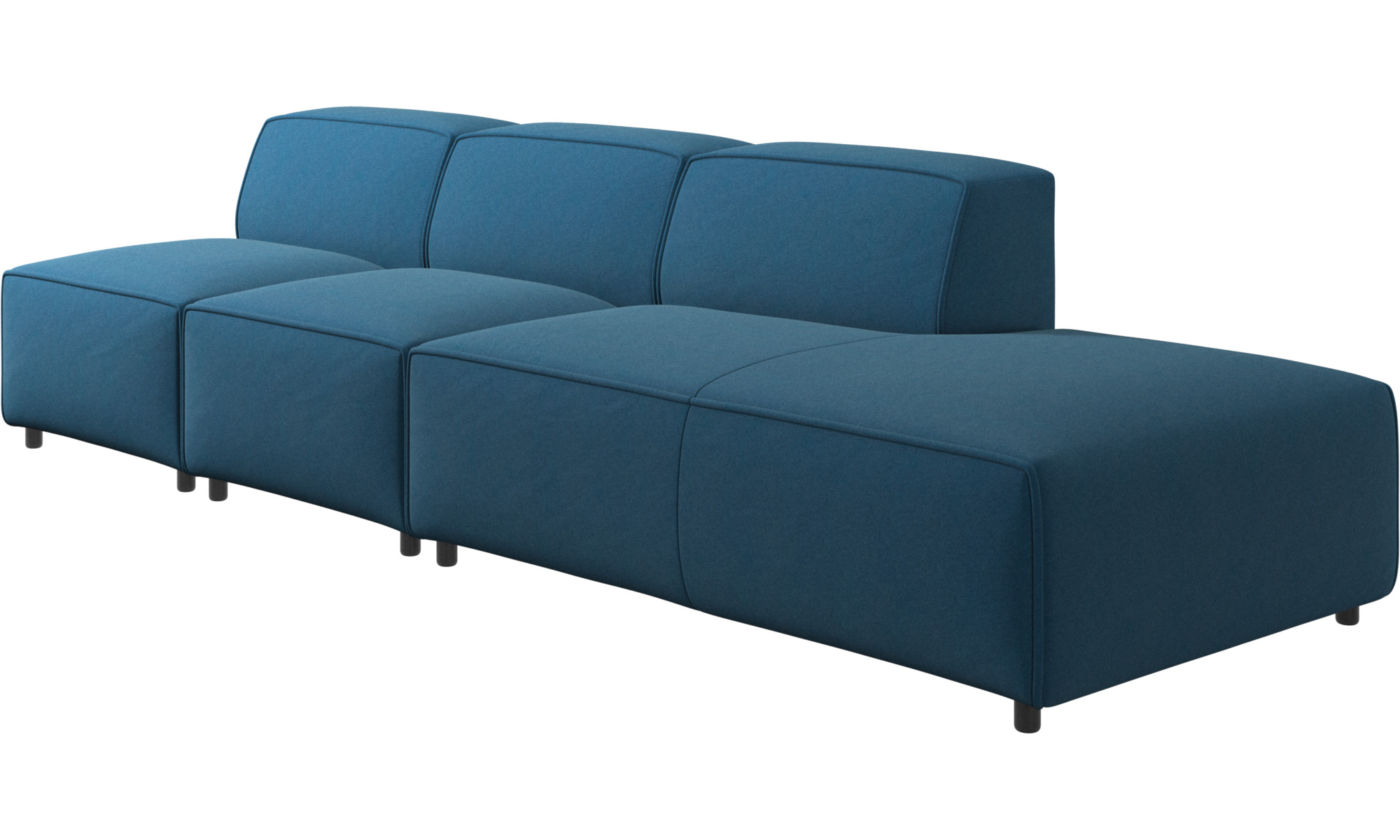 Sofas With Open End Carmo Sofa With Lounging Unit Boconcept