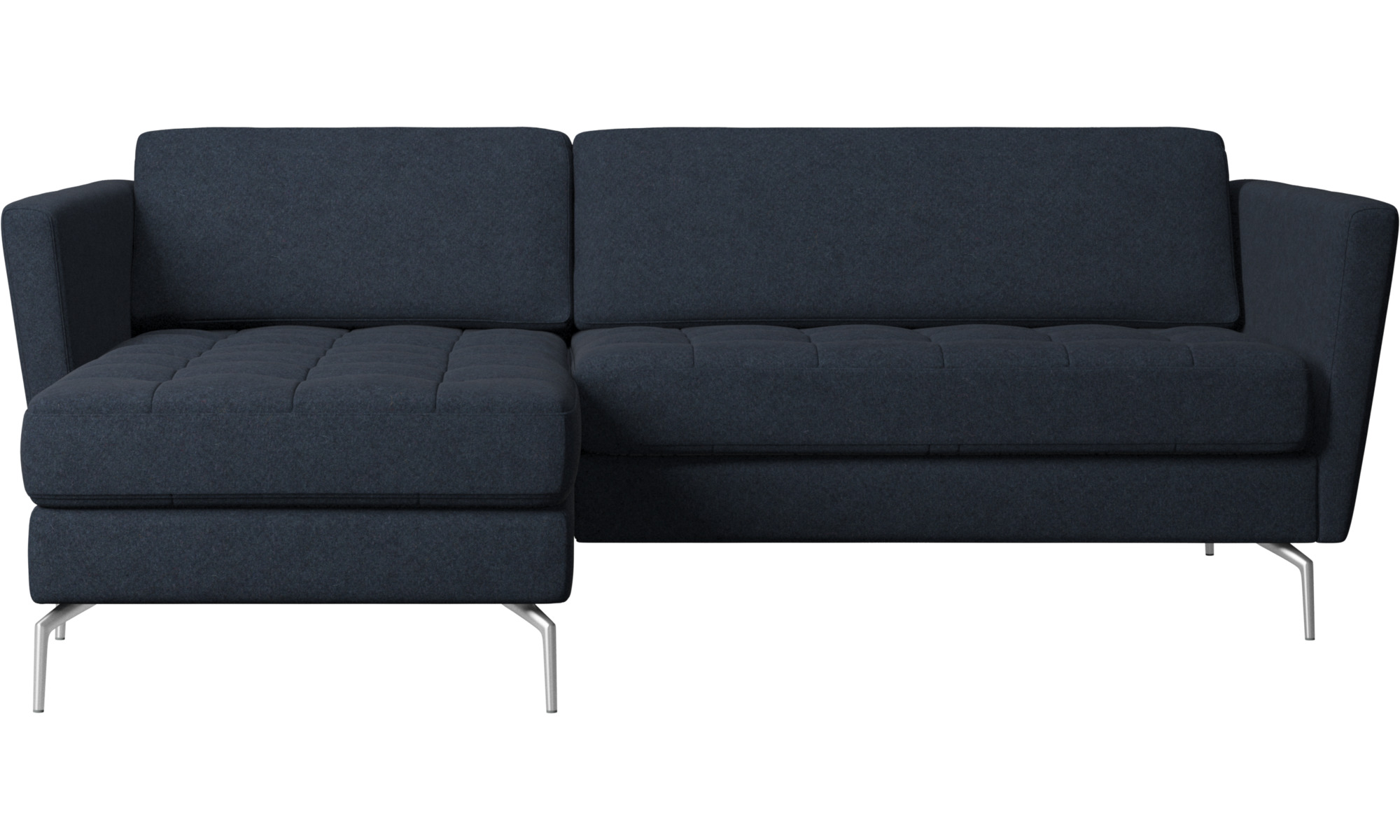 Chaise longue sofas osaka sofa with resting unit tufted for Oferta sofa cama chaise longue