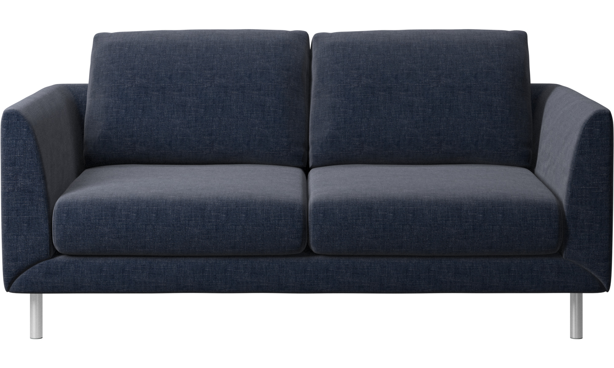 dunkelblauer napoli stoff fargo sofa boconcept. Black Bedroom Furniture Sets. Home Design Ideas