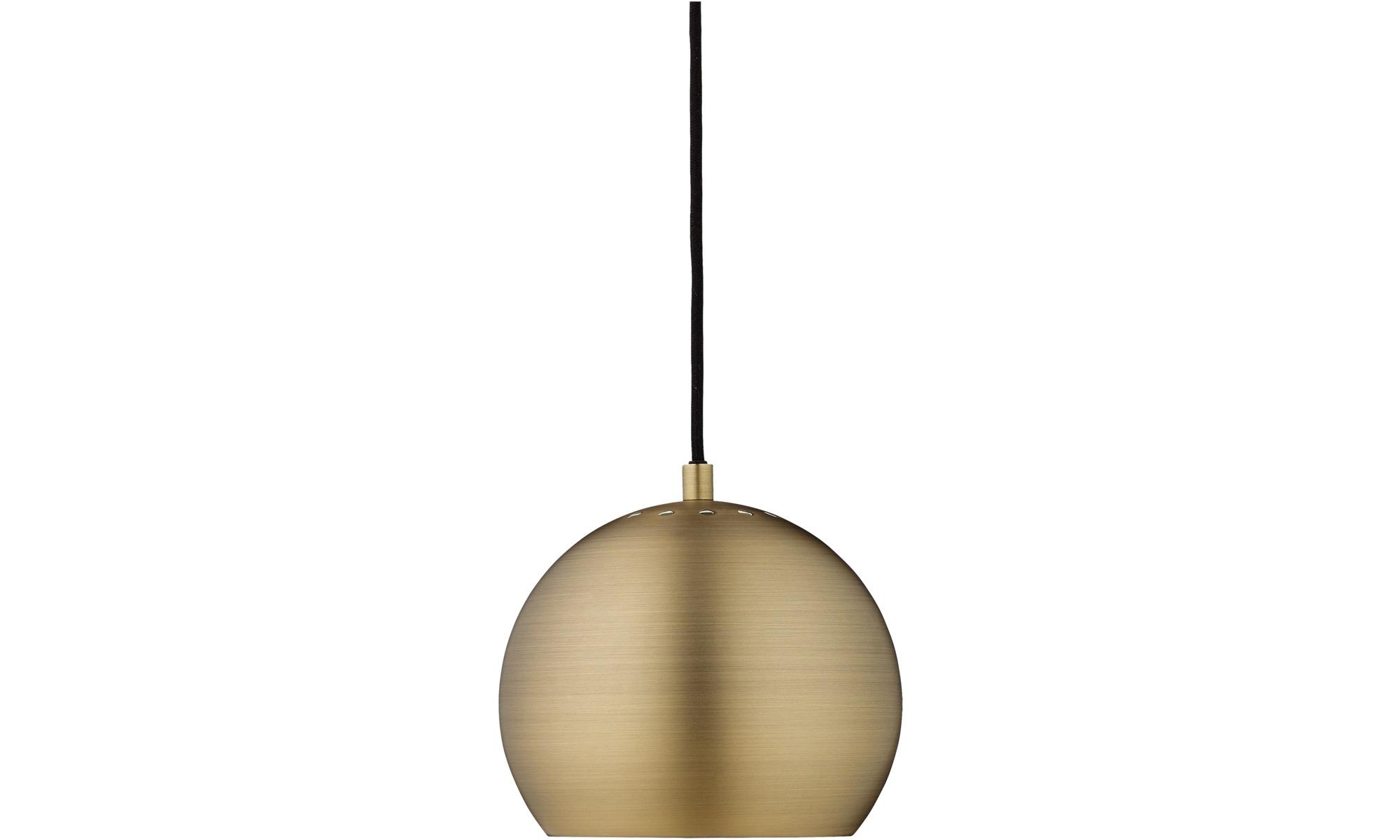 Lampor - Ball taklampa - Gul - Metall