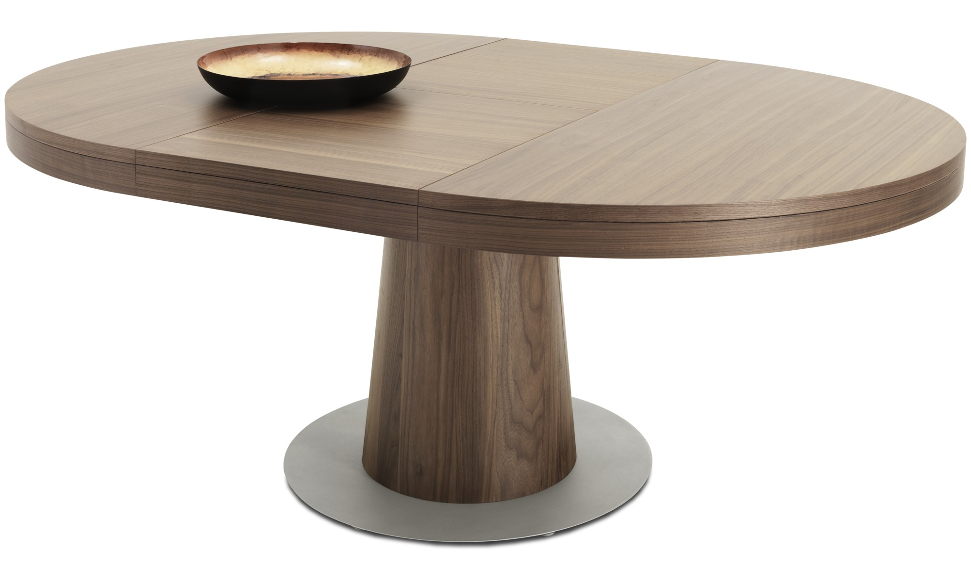 Dining tables granada table with supplementary tabletop boconcept - Tables rondes salle a manger ...