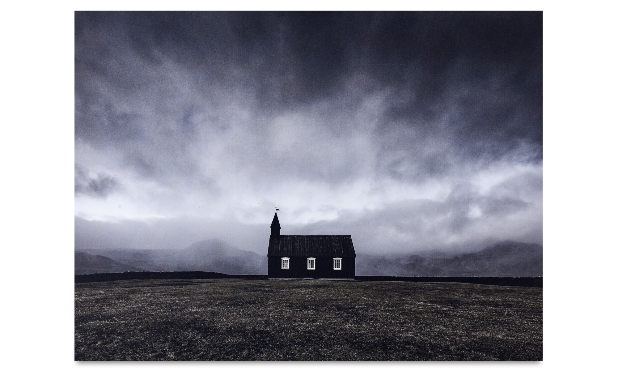 Tavlor - Church metalltryck - Metall