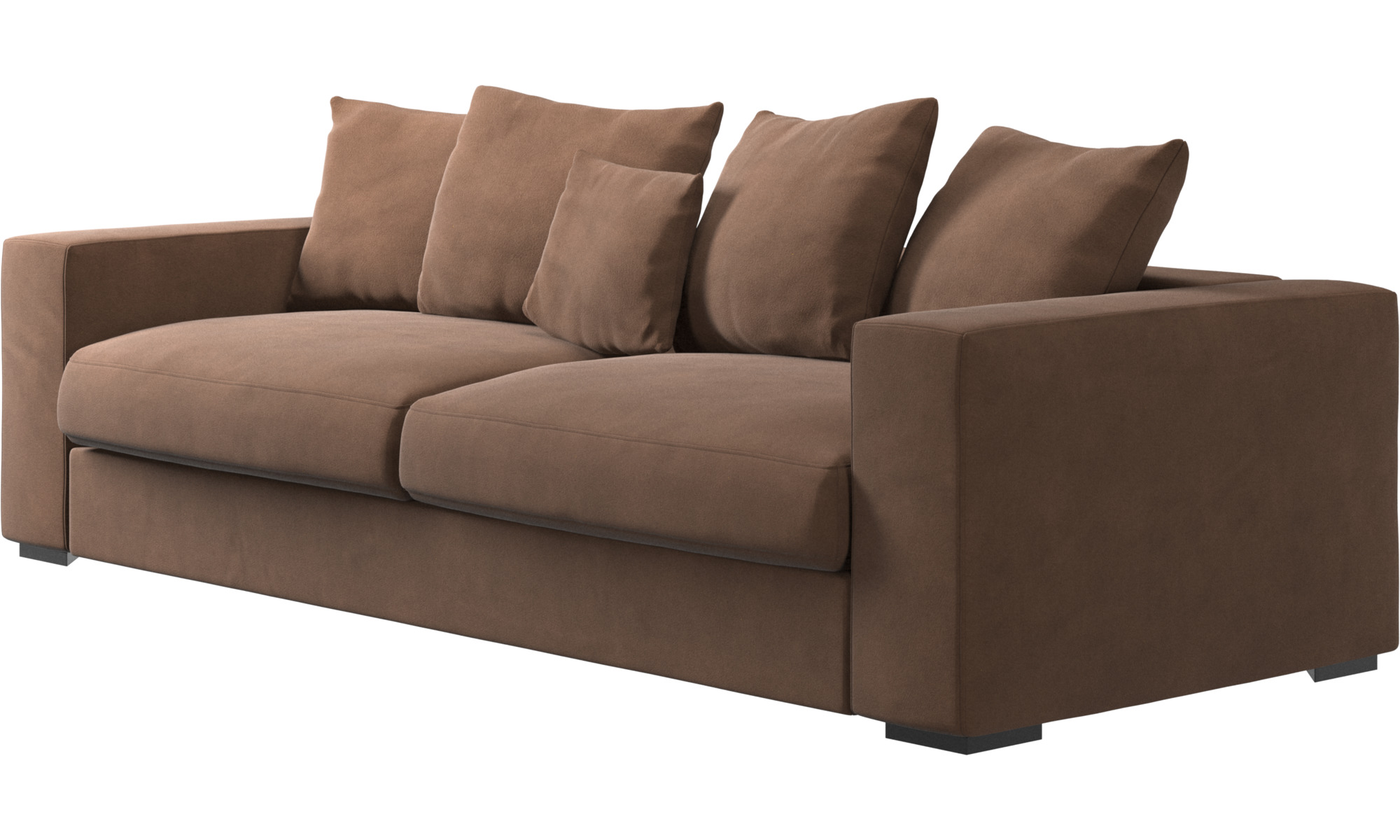 3 seater sofas cenova sofa boconcept. Black Bedroom Furniture Sets. Home Design Ideas