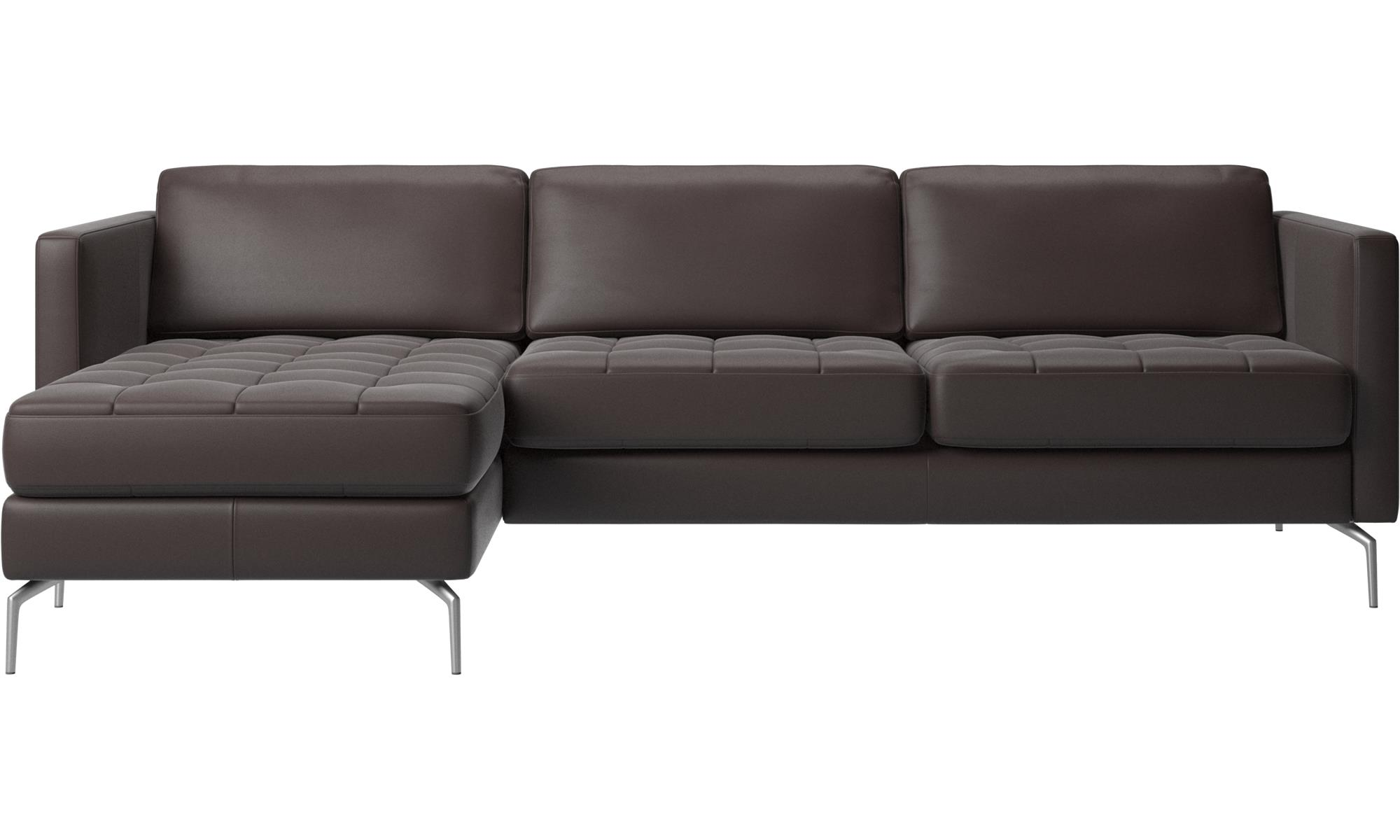 chaise longue sofas osaka sofa with resting unit tufted seat boconcept. Black Bedroom Furniture Sets. Home Design Ideas