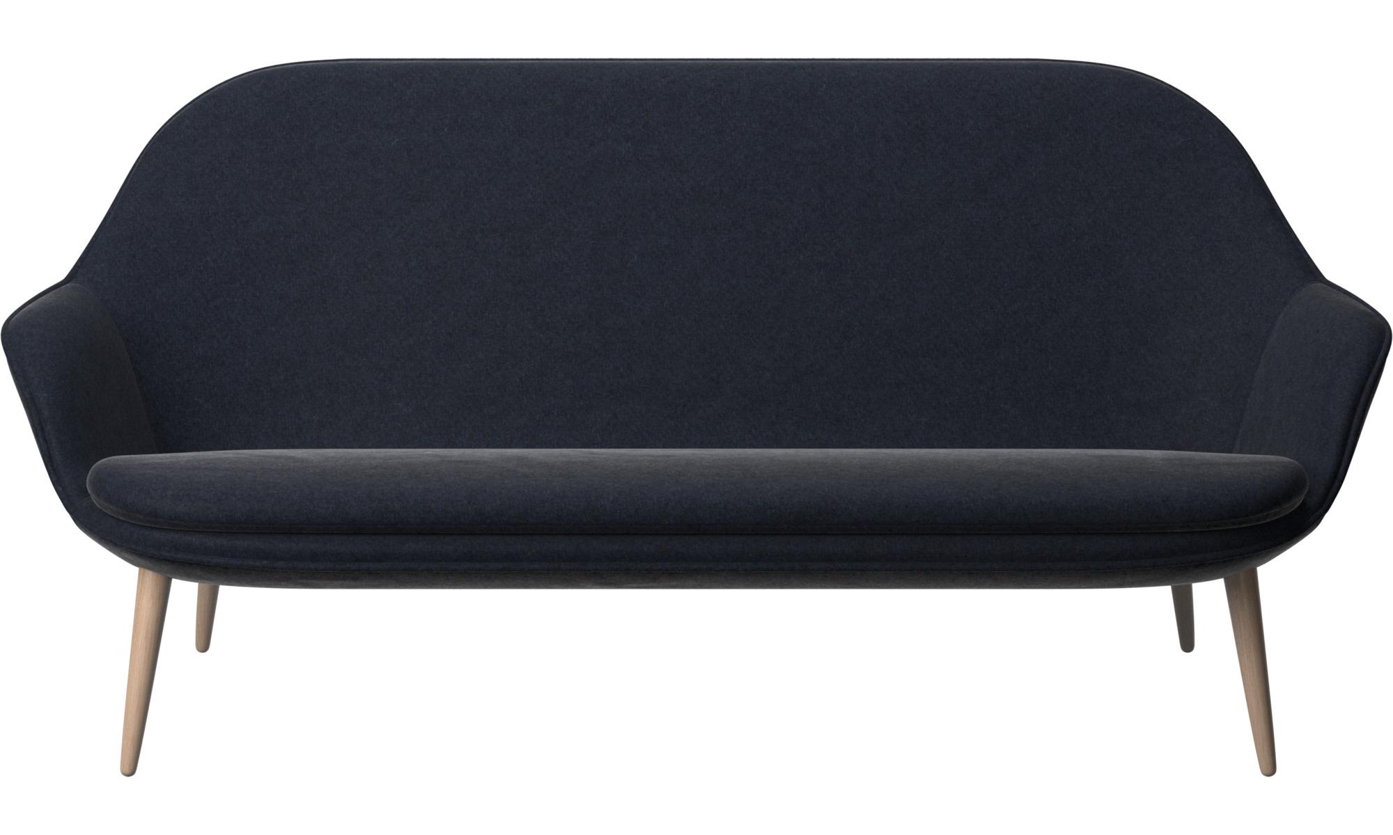 2½ personers sofaer - Adelaide sofa - Blå - Stof