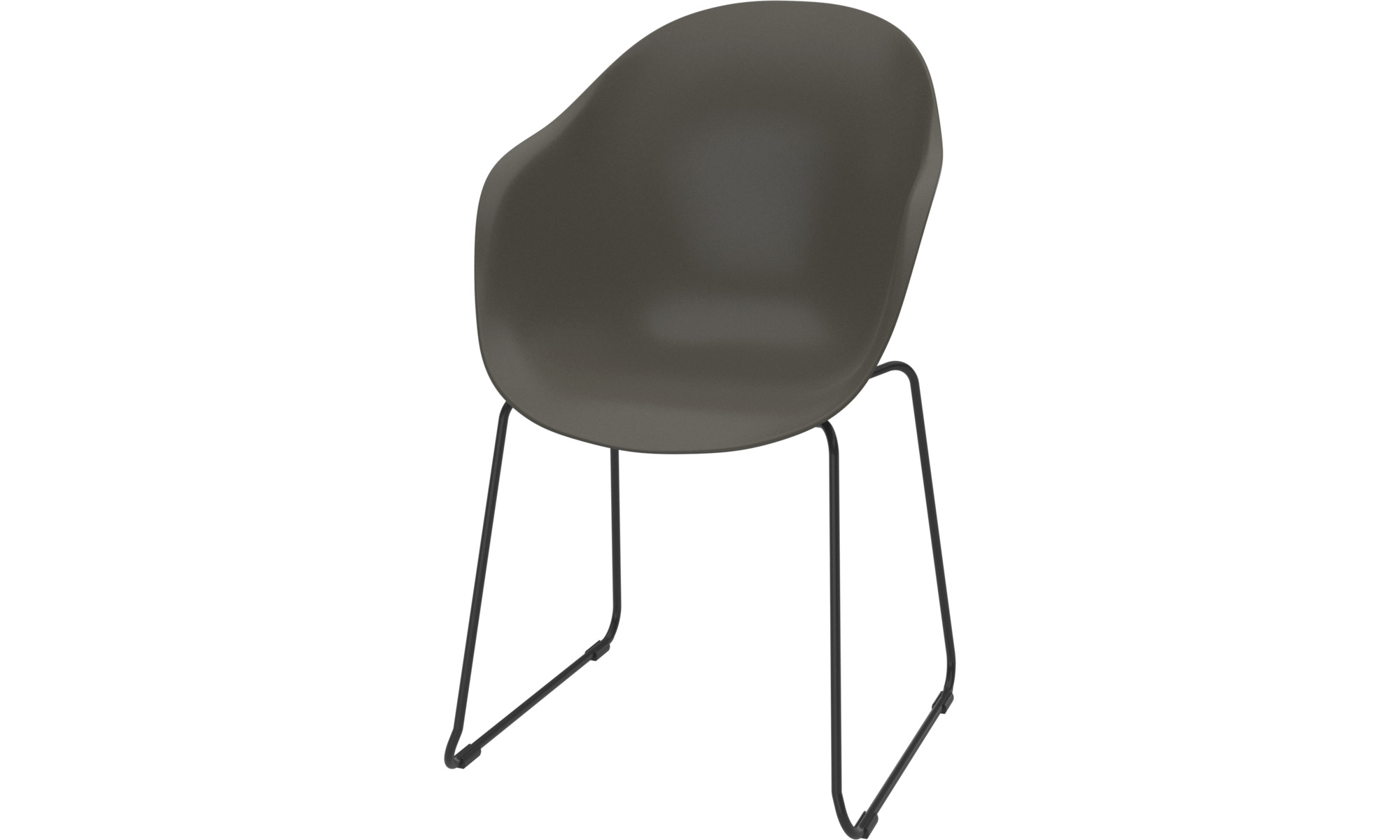 Dining chairs - Adelaide chair (for in and outdoor use) - Green - Plastic