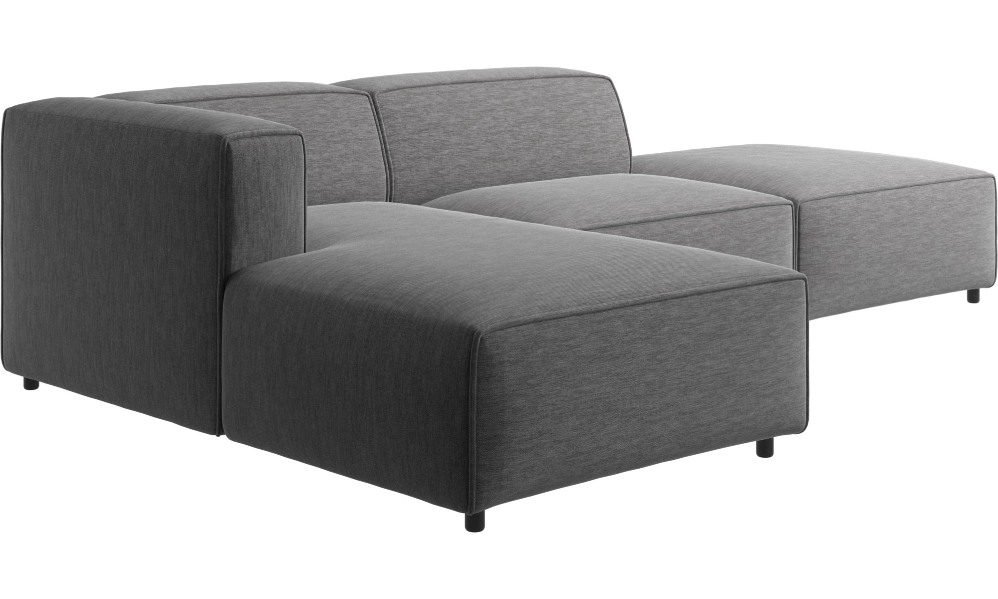modular sofas carmo sofa with lounging and resting unit boconcept. Black Bedroom Furniture Sets. Home Design Ideas