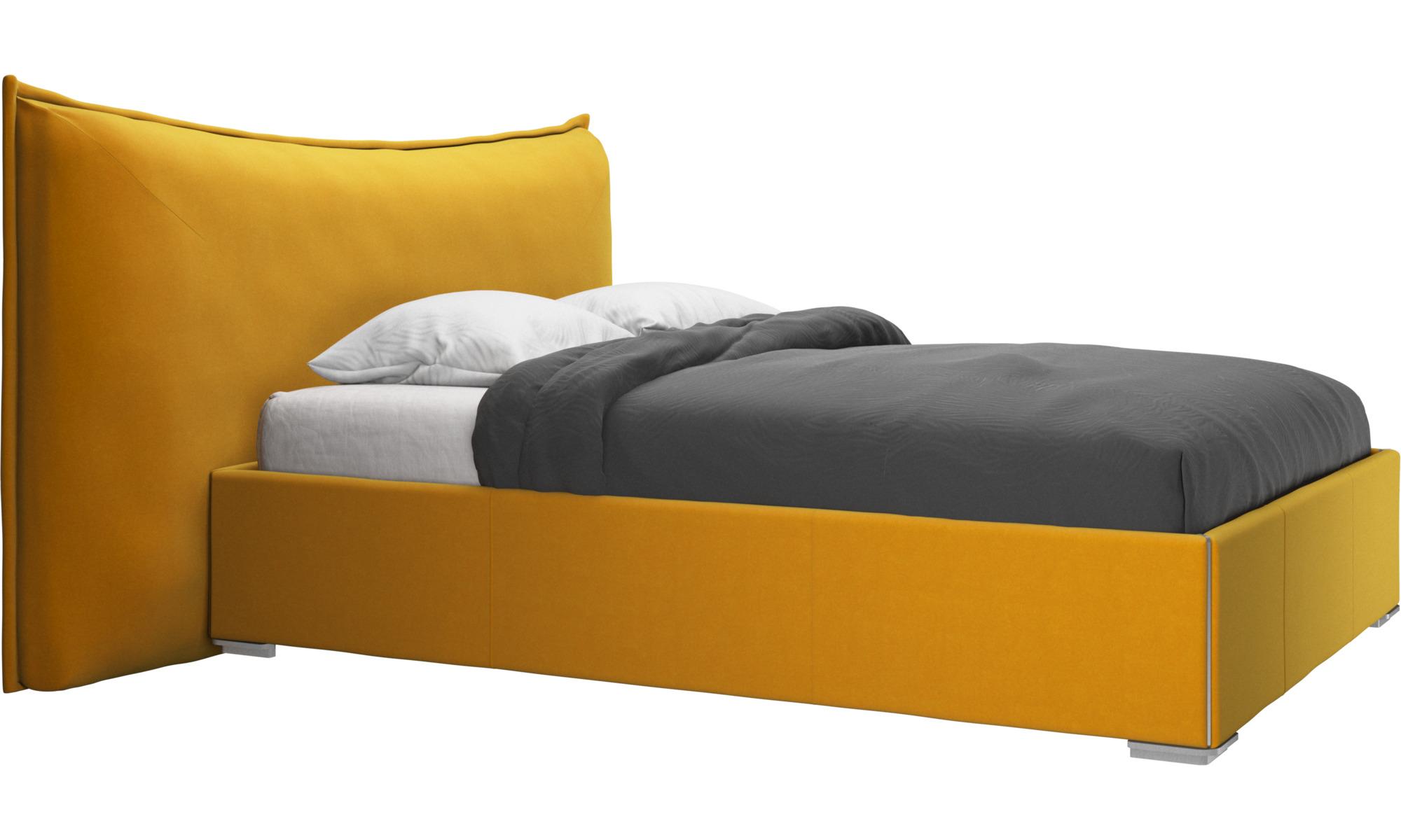 Camas - Cama Gent, no incluye colchón - Naranja - Tela