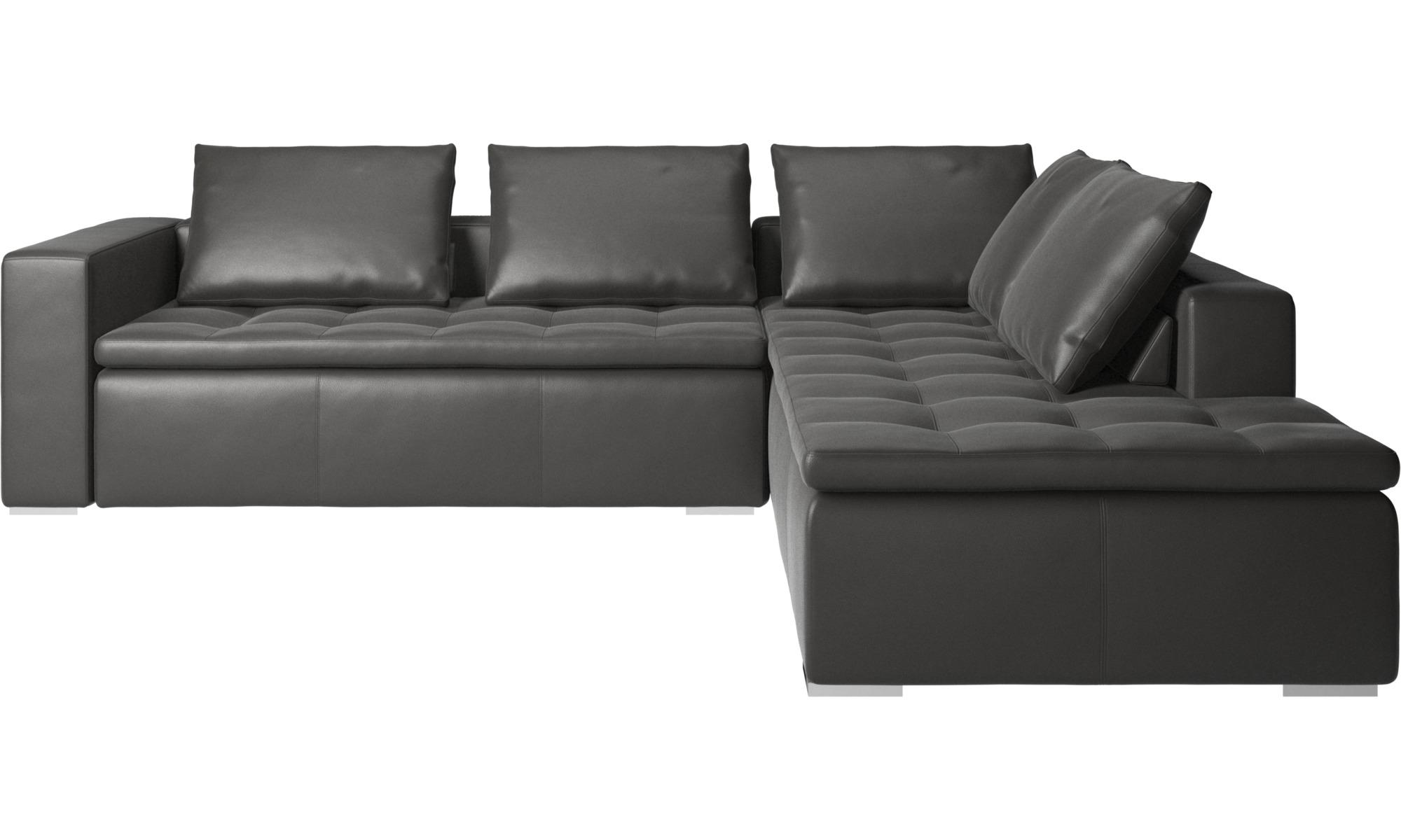corner sofas mezzo corner sofa with lounging unit boconcept. Black Bedroom Furniture Sets. Home Design Ideas