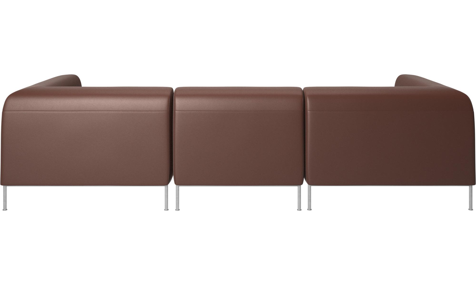 Modular Sofas Miami Sofa Brown Leather
