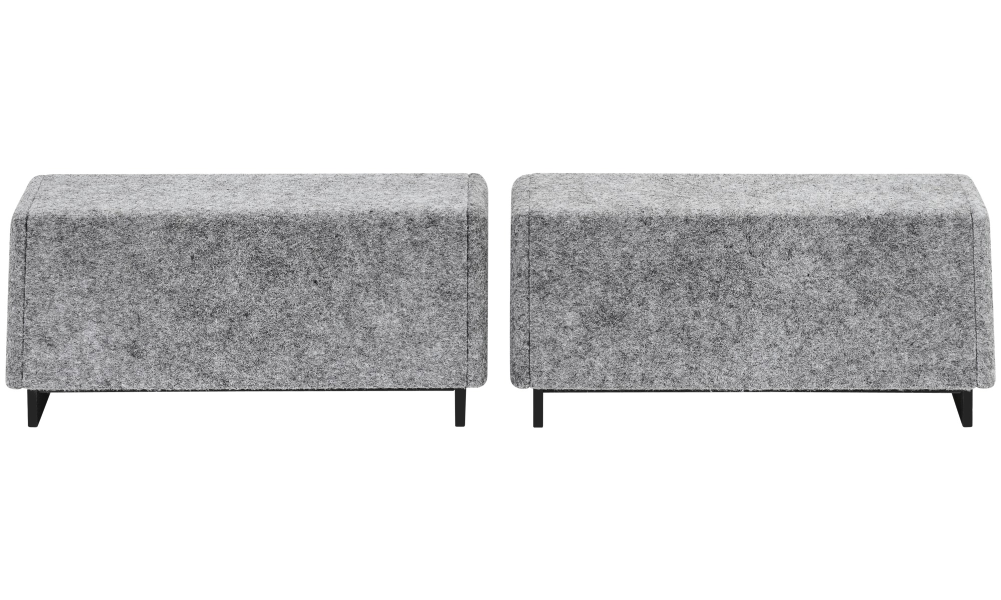 Desks - Cupertino loudspeakers (set) - Gray - Speaker front