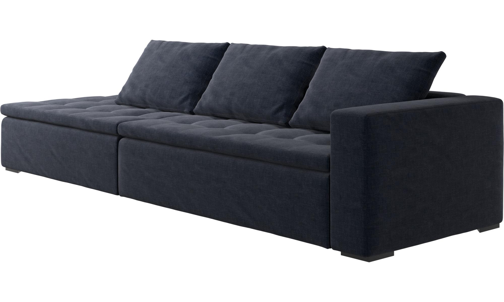 Una textura sofisticada sof mezzo con m dulo de - Sofas de descanso ...