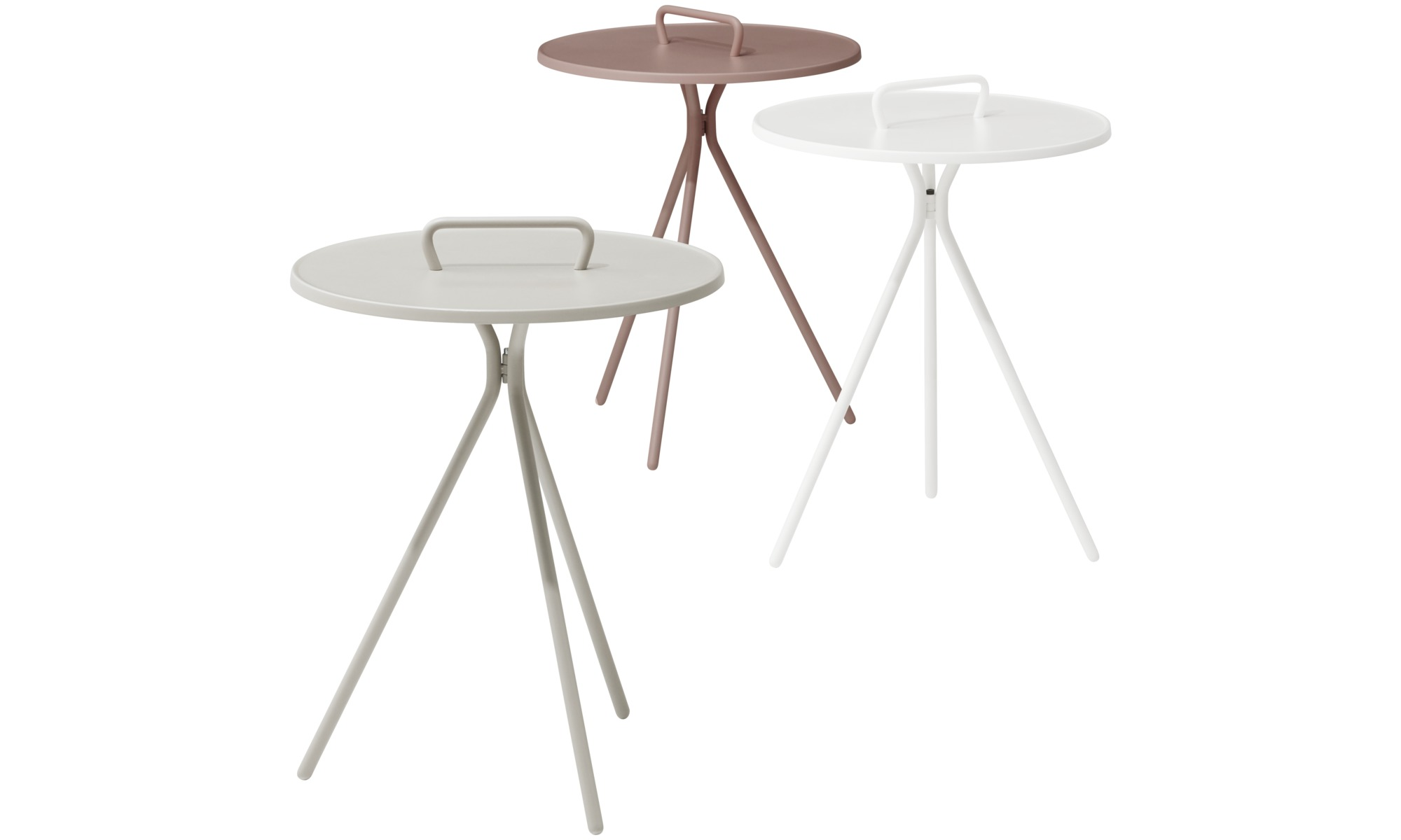 Coffee tables jersey side table for in and outdoor use for Beistelltisch outdoor