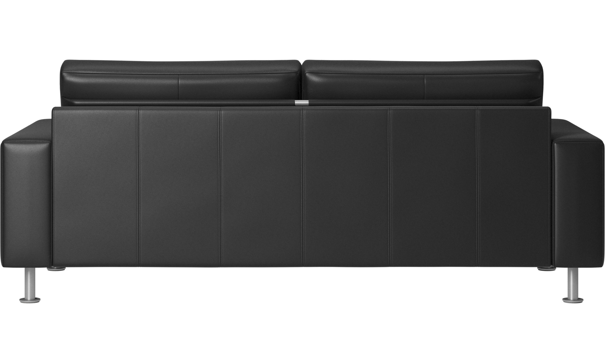 Sofa Beds Indivi 2 Bed Black Leather