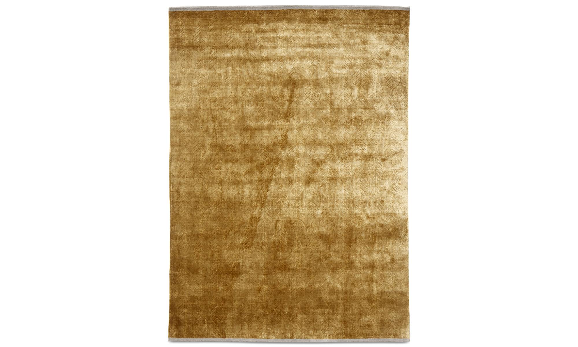 Teppiche - Elpida Teppich - rechteckig - Gelb - Viskose