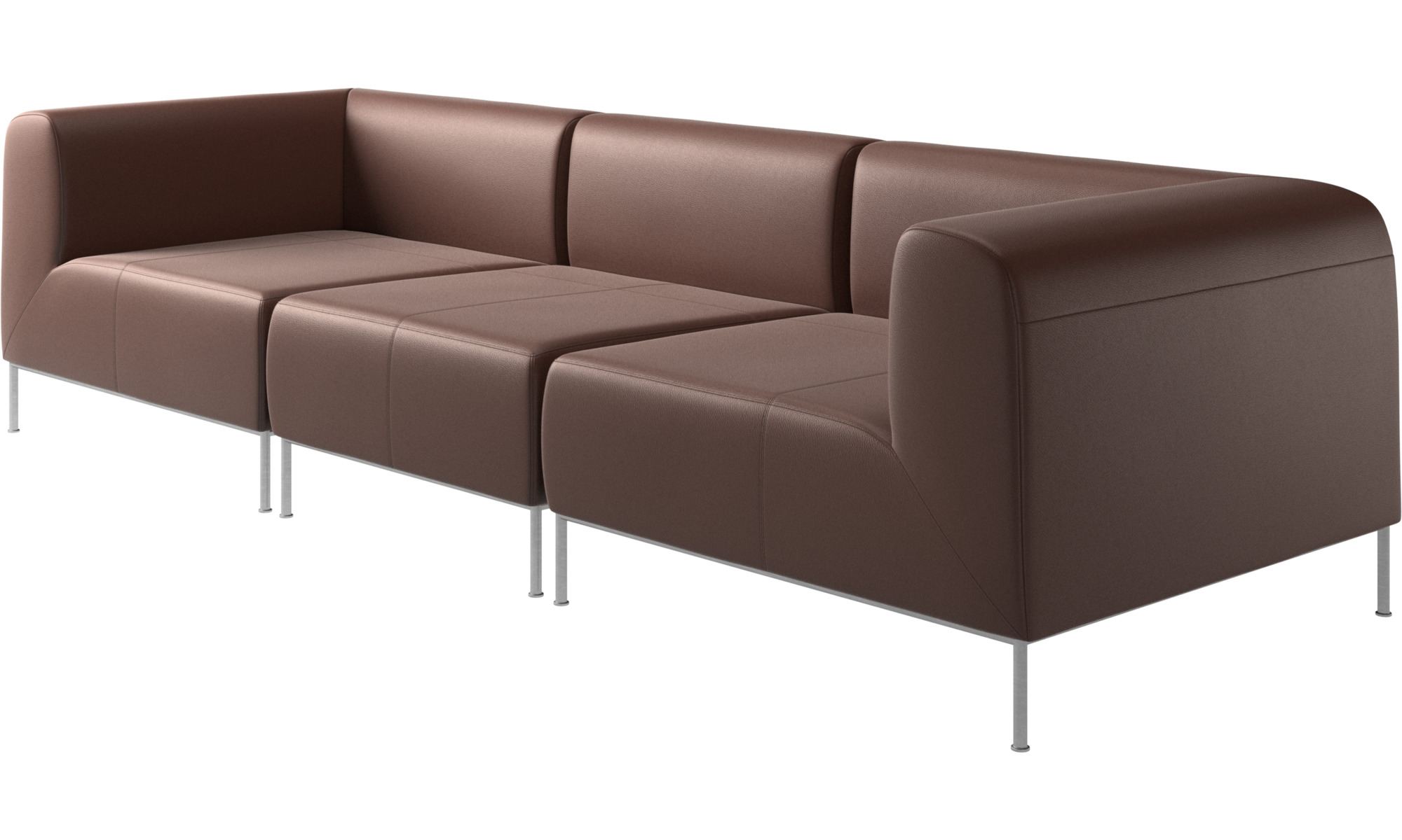 Modular Sofas Miami Sofa Brown Leather