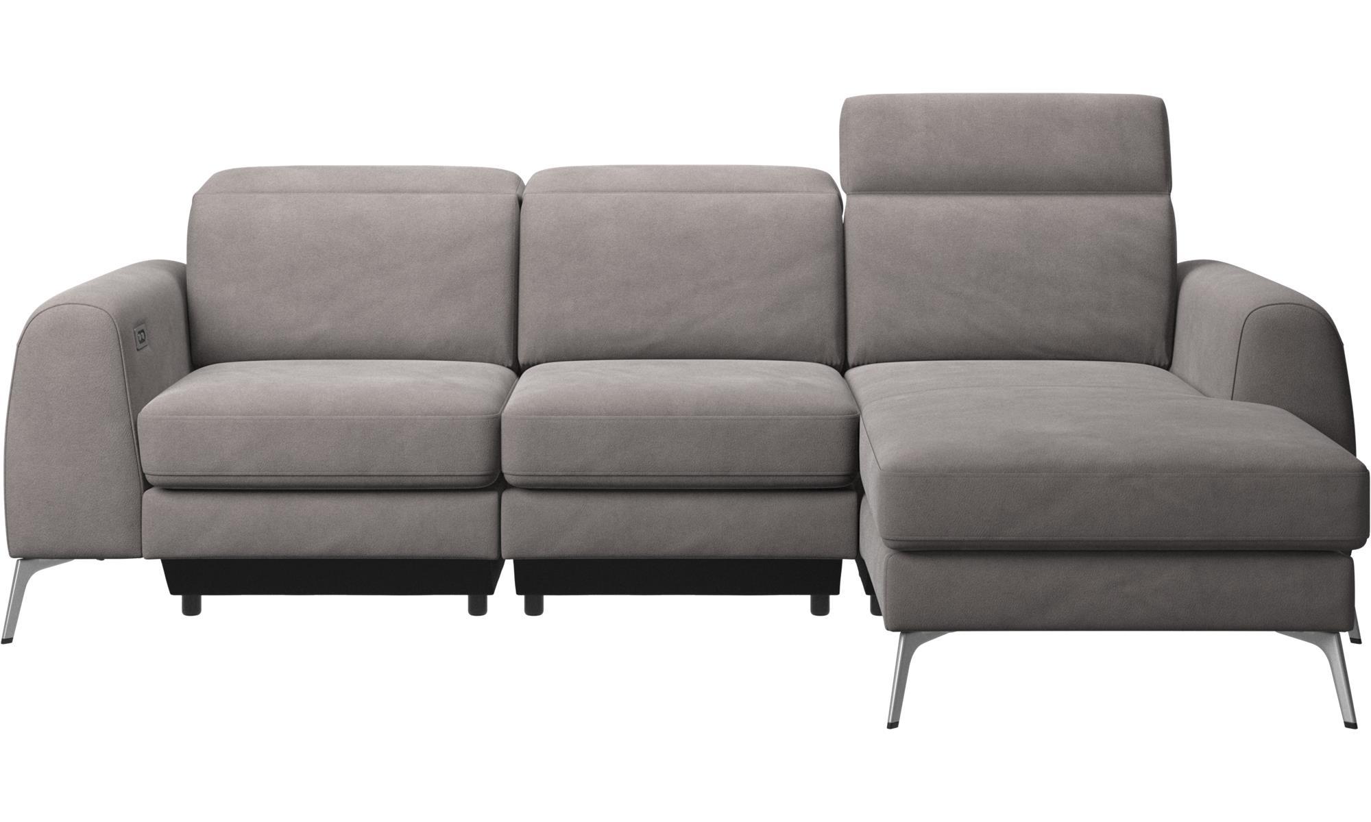 Erstaunlich Sofa Kopfstütze Sammlung Von 3-sitzer Sofas - Madison Mit Ruhemodul Und