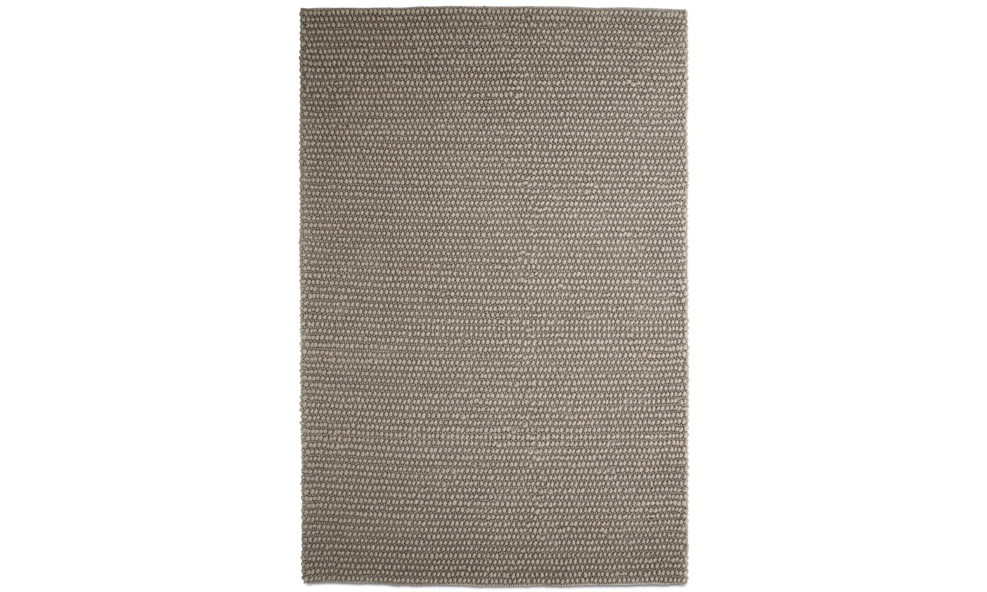 Rugs - Nordic rug - rectangular - Grey - Wool