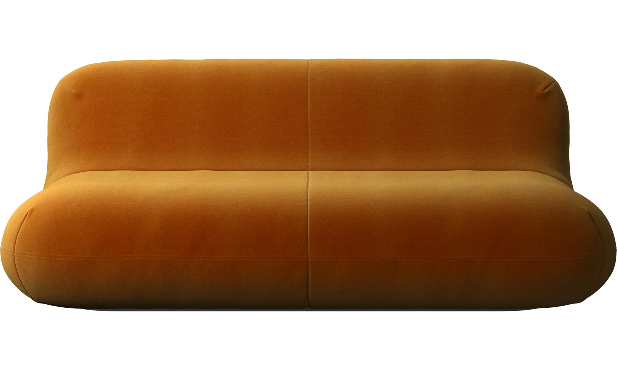 2½ personers sofaer - Chelsea sofa - Gul - Stof