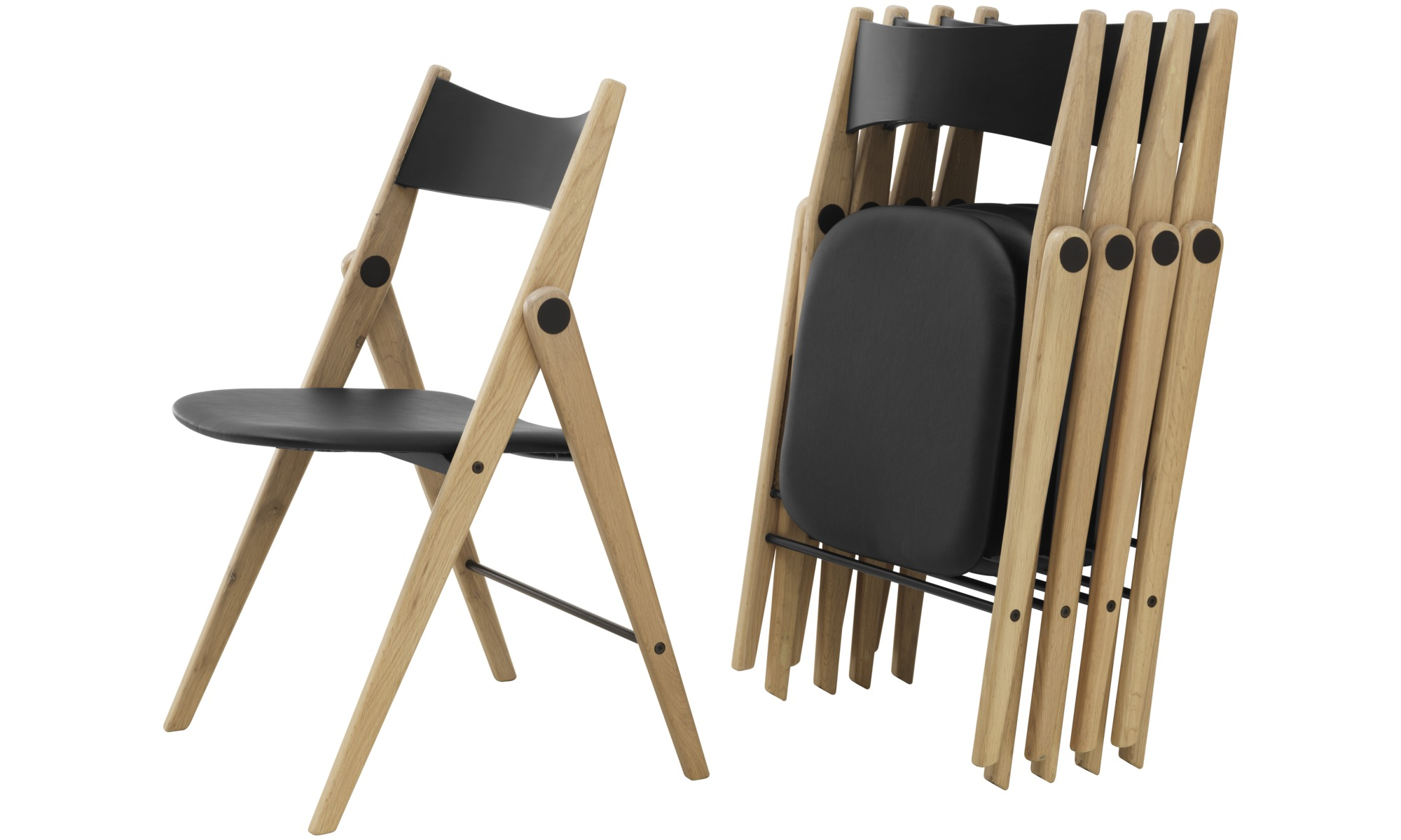 dining chairs oslo folding chair boconcept. Black Bedroom Furniture Sets. Home Design Ideas