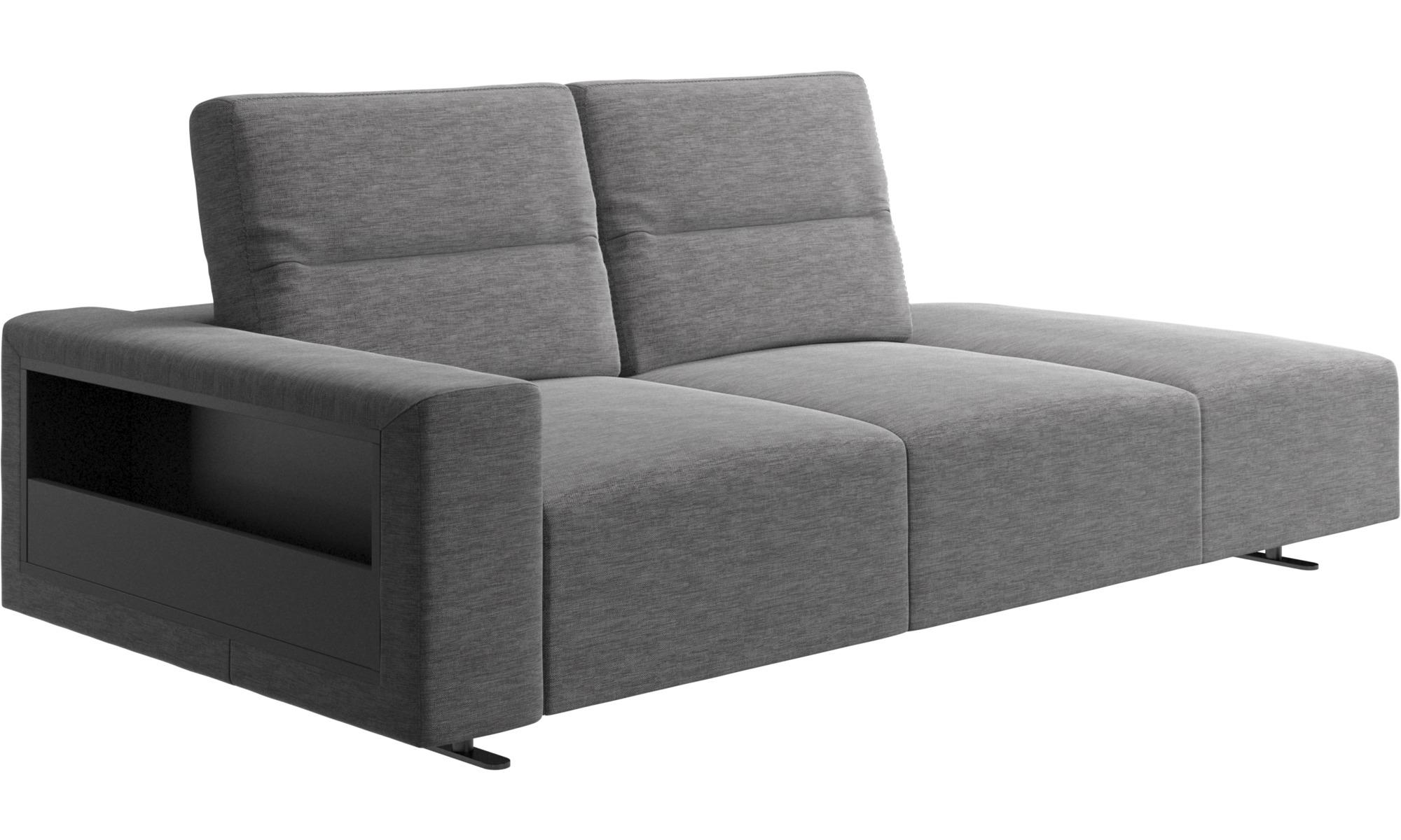 Lounge sofas hampton sofa mit verstellbarem r cken und for Sofa von der seite