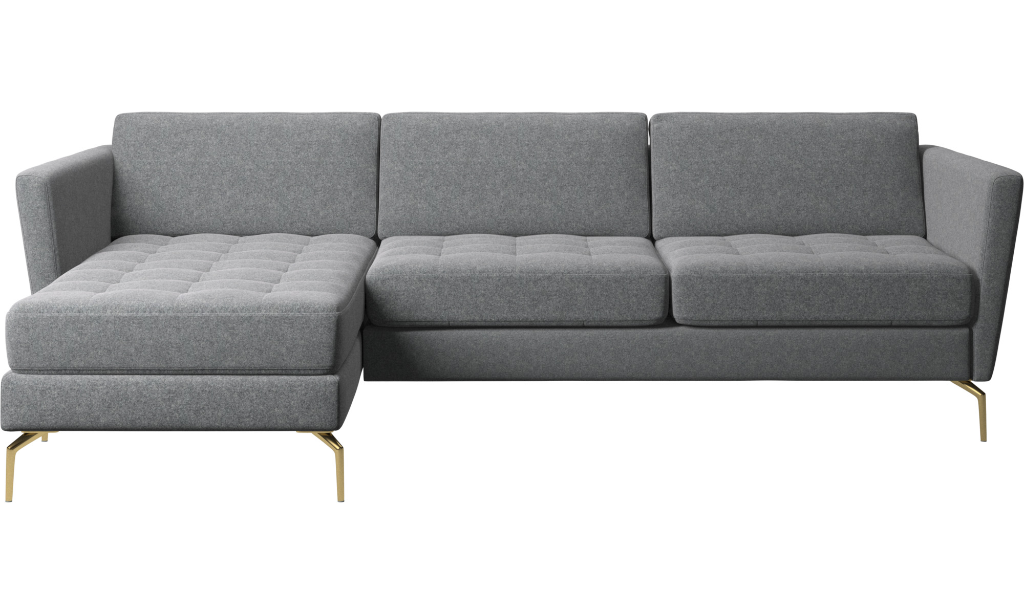 Chaise Lounge Sofas Osaka Sofa With Resting Unit Tufted Seat Boconcept