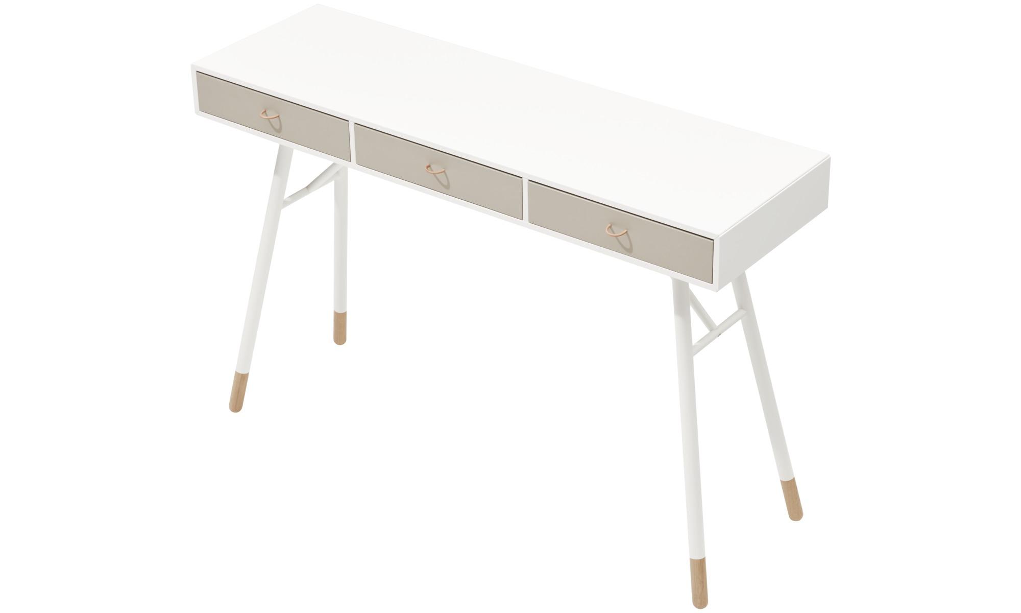 Desks cupertino console table boconcept for Bo concept table basse