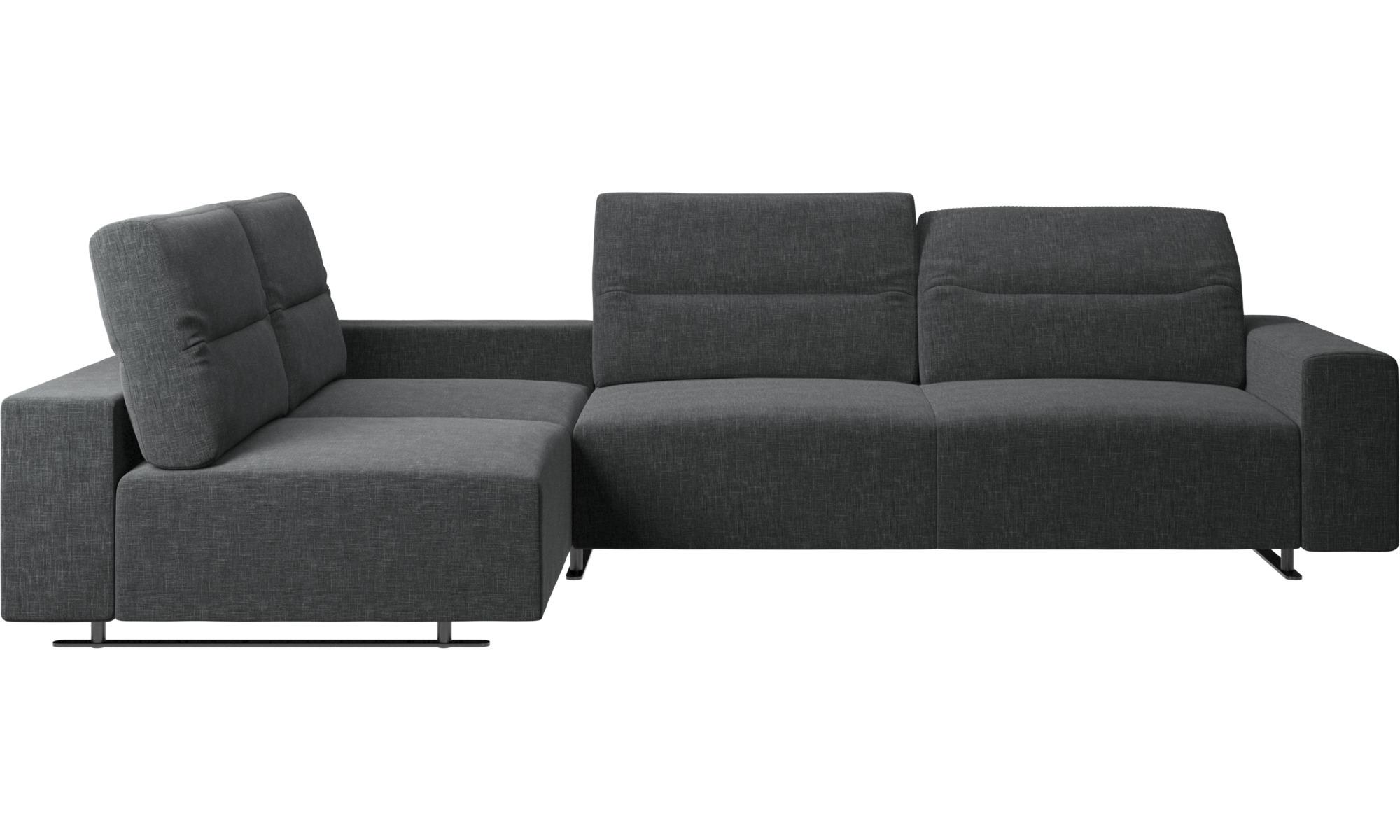 Corner sofas - Divano ad angolo Hampton con schienale regolabile e ...