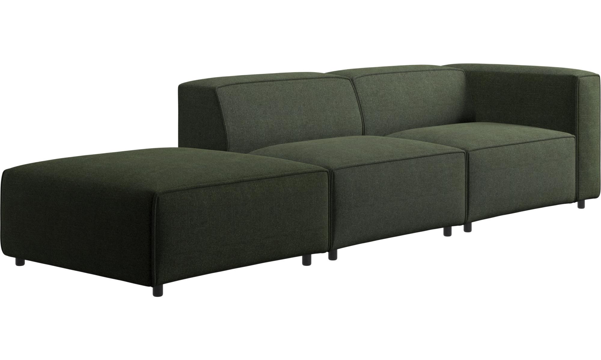 - Modular Sofas - Carmo Sofa With Lounging Unit - BoConcept