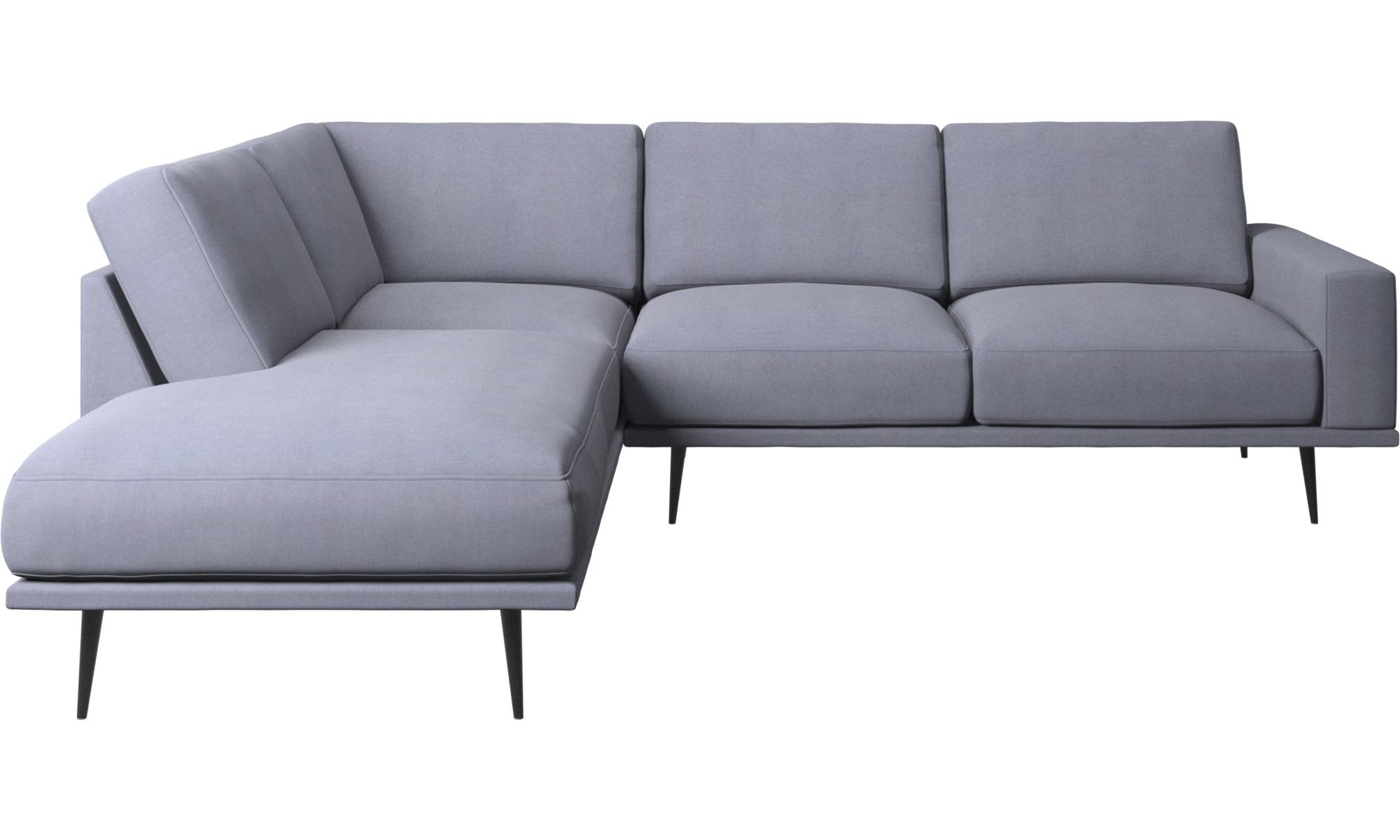 Sofaer med hvilemodul - Carlton sofa med hvilemoduler - Blå - Stof