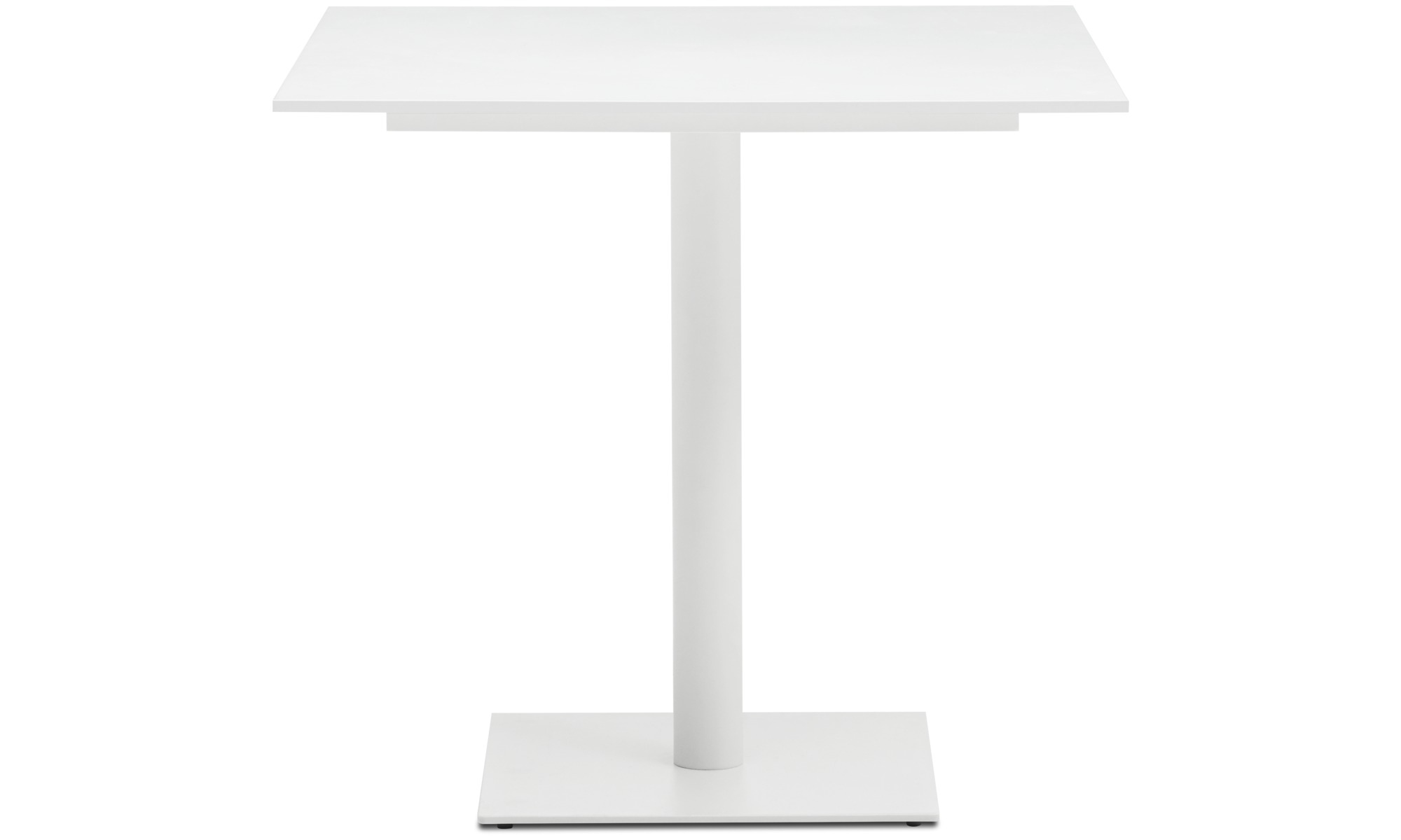 Conference tables - Torino table - square - White - Lacquered