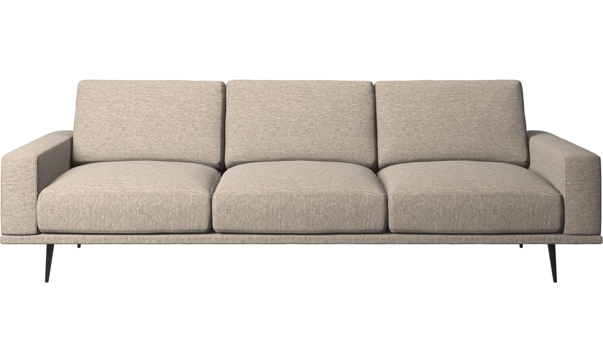 3-sitzer Sofas - Carlton Sofa - Beige - Stoff