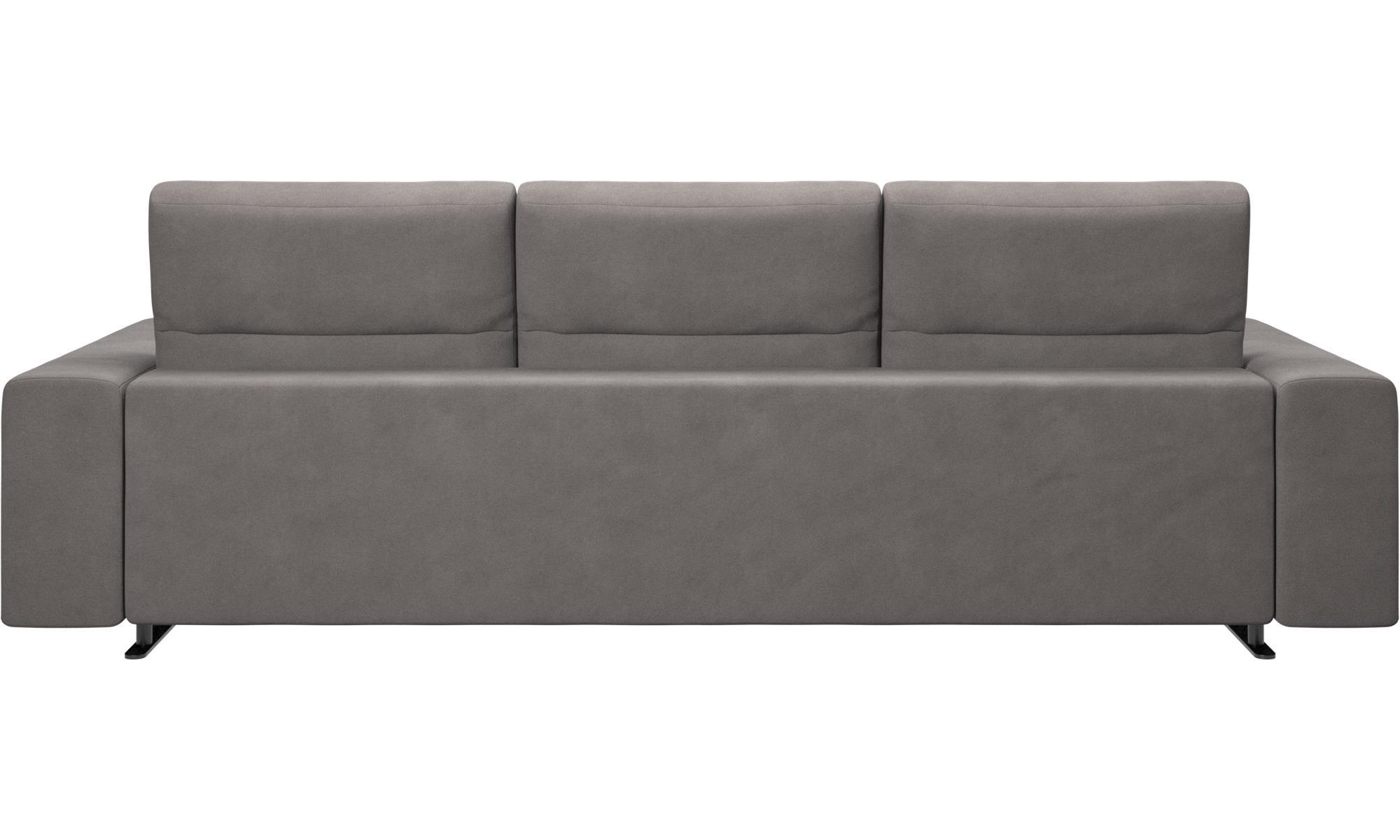 Wundervoll Sofa Mit Verstellbarer Rückenlehne Dekoration Von 3-sitzer Sofas - Hampton Rückenlehne - Grau
