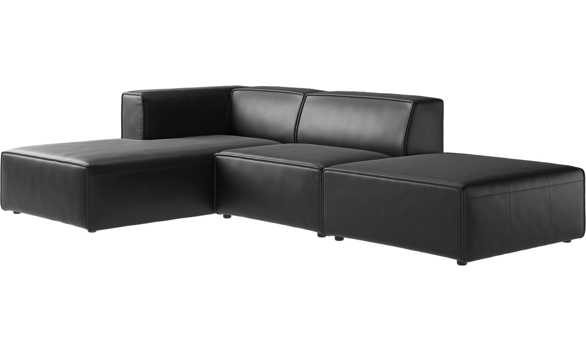 Chaise Longue Sofas Carmo Sofa With Lounging And Resting Unit Boconcept