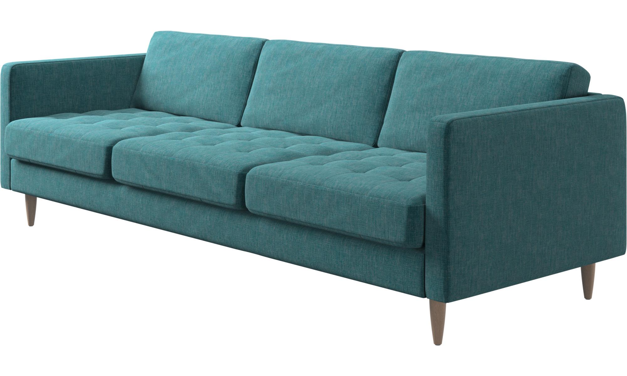 3 seater sofas osaka sofa tufted seat boconcept. Black Bedroom Furniture Sets. Home Design Ideas