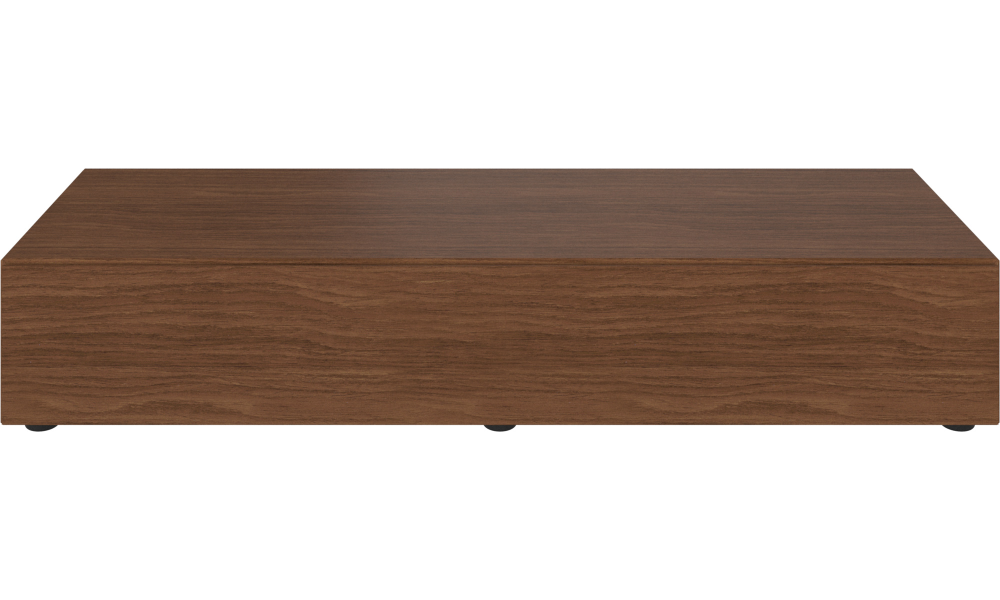 Tv units - Lugano base cabinet with drop down doors - Brown - Walnut