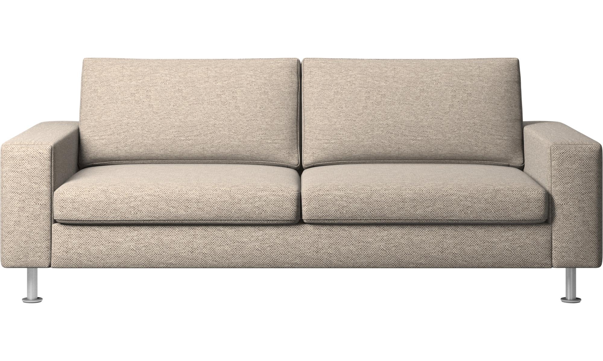 Sofy rozkładane - Sofa Indivi z funkcją spania - Beżowy - Tkanina