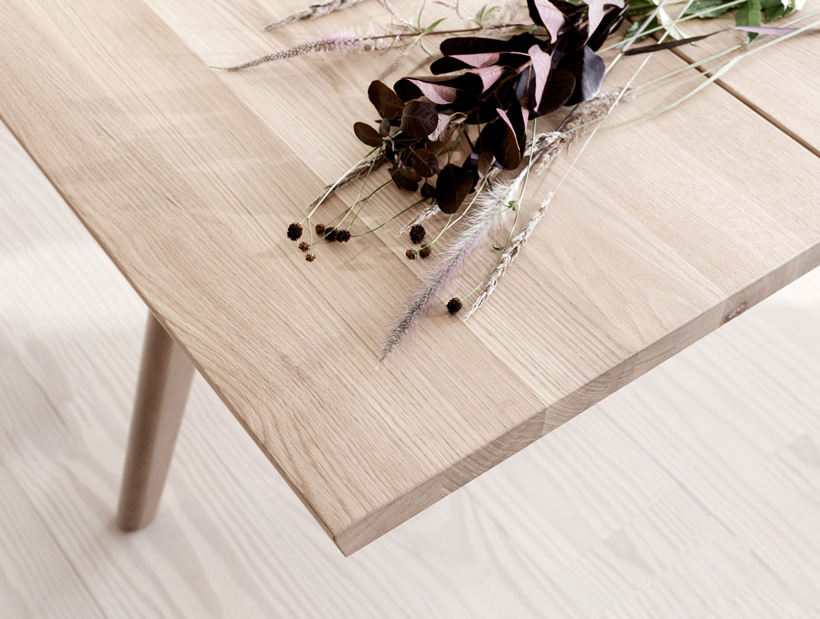 Vancouver Oak dining table