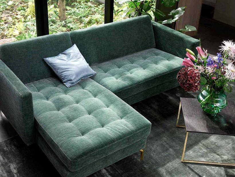 Forrest Green Osaka Sofa