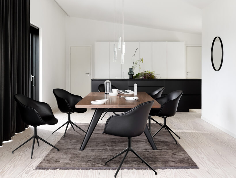 Dining table with Adelaide dining chair