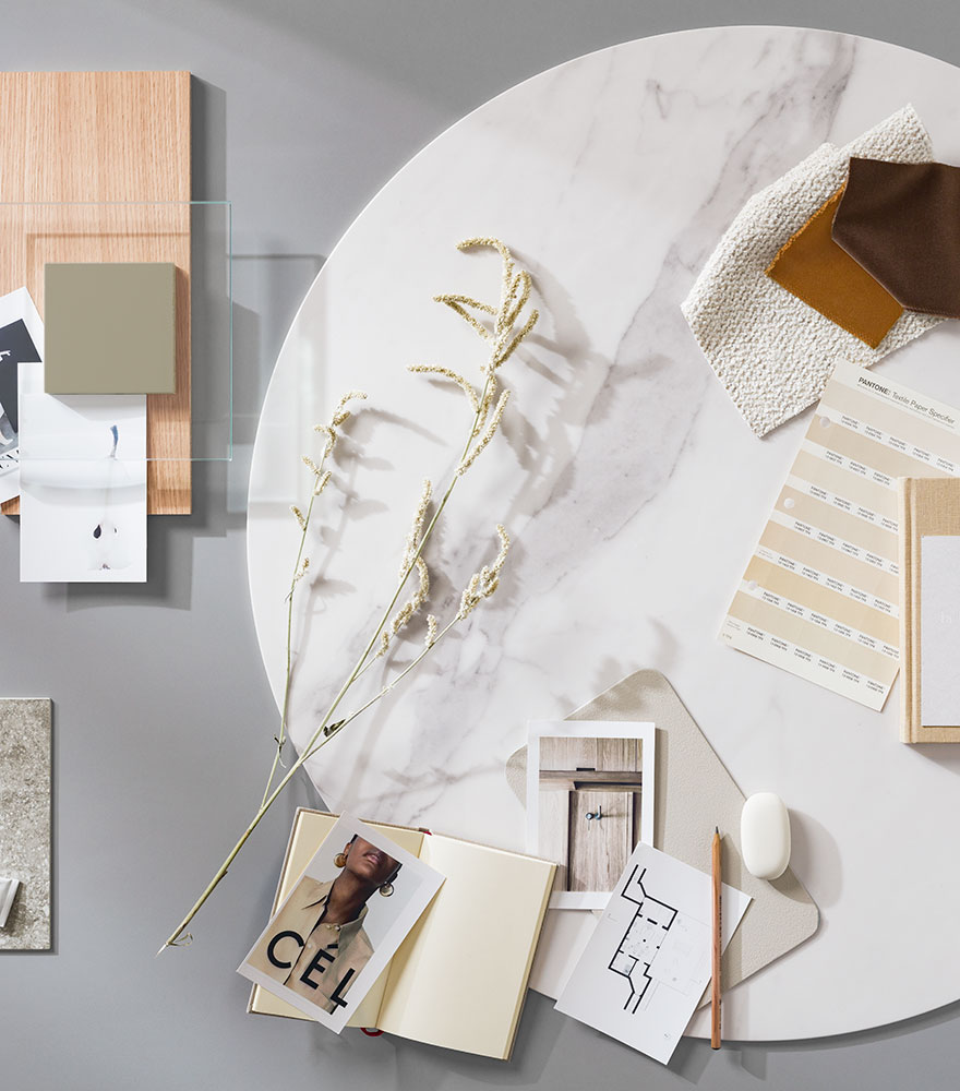 Interior inspiration in natural colours
