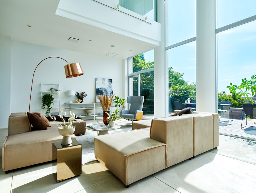 Luxury apartment furnished with BoConcept furniture