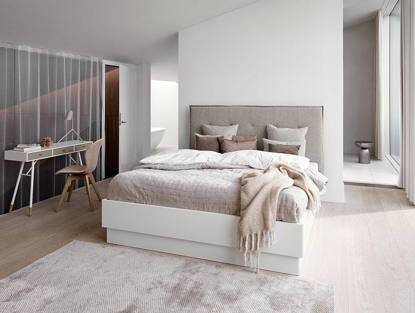 Scandinavian bed
