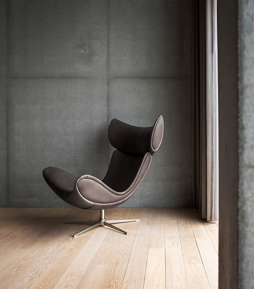 棕色 Imola 躺椅