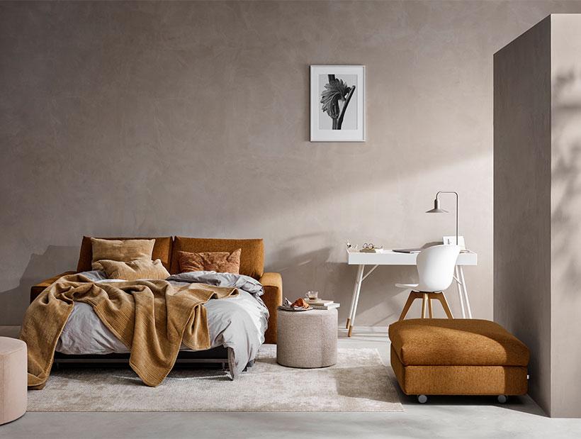 Camel sofa bed