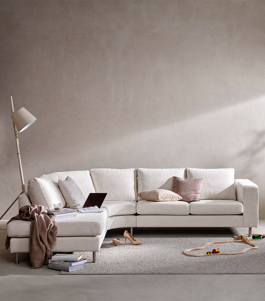 Valkoinen sohva