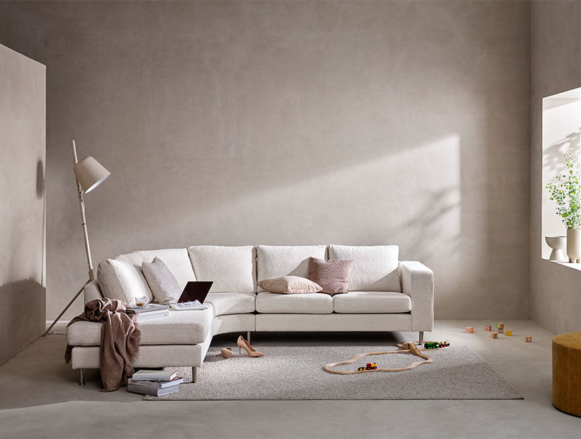 Canapé blanc