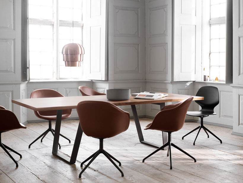 Vancouver dining table with Florence dining chairs